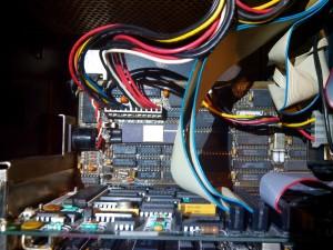 Reemplazo de batería (junto a conector DIN)
