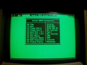Configuración de memoria y parámetros de BIOS mediante GSETUP