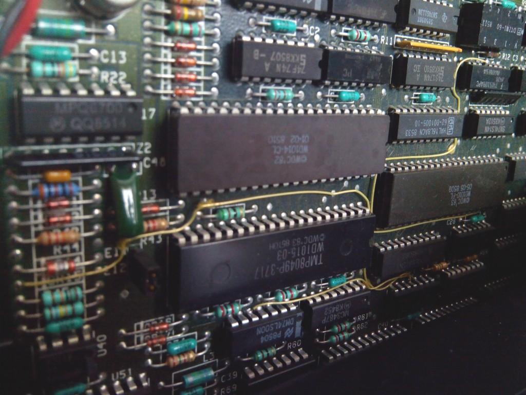 Reparación de tarjeta controladora IBM