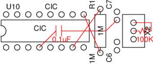 Esquema para eliminación de integrado 10NES