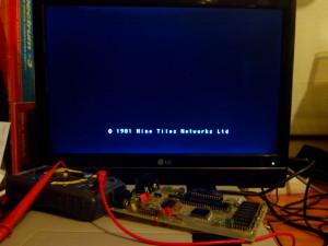 Inicio del sistema con ROM Open SE