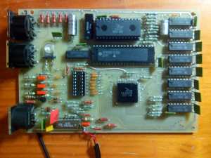 Vista general de placa PLM-X