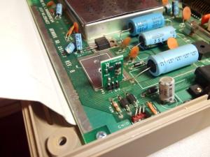 Instalación de regulador de tensión conmutado