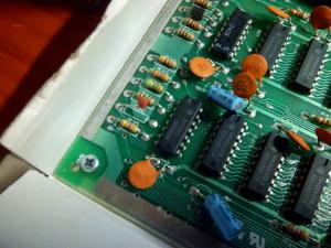 Sustitución de condensador C38