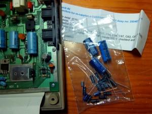 Substitución de condensadores electrolíticos