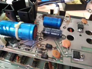 Condensador de 1500 uF en mal estado