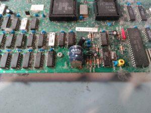 Detalle de batería a reemplazar anterior a limpieza