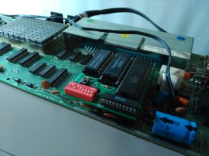 Instalación de placa 6502 RAM/ROM