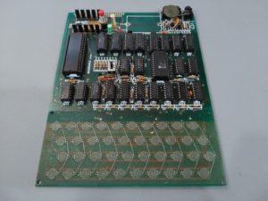 Vista general de ordenador MicroAce al inicio de la reparación