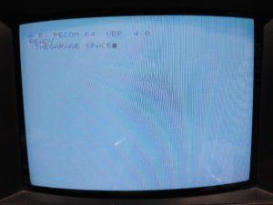 Salida en pantalla