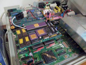 Visión general de tarjeta PAK68/3 con 68030 y 68882