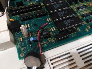 Reparación en lado de componentes