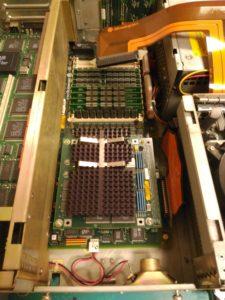 Aspecto inicial con módulo R4000 instalado