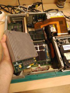 Aspecto de módulo con procesador R4400