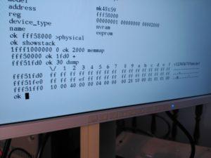 Programación de NVRAM desde OBP