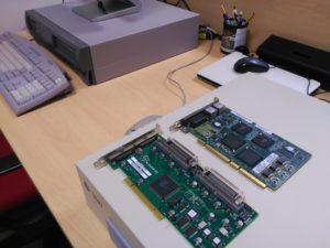 Detalle de tarjetas X6540A y X4422A