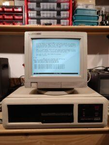 Vista general con terminal HP 700/96